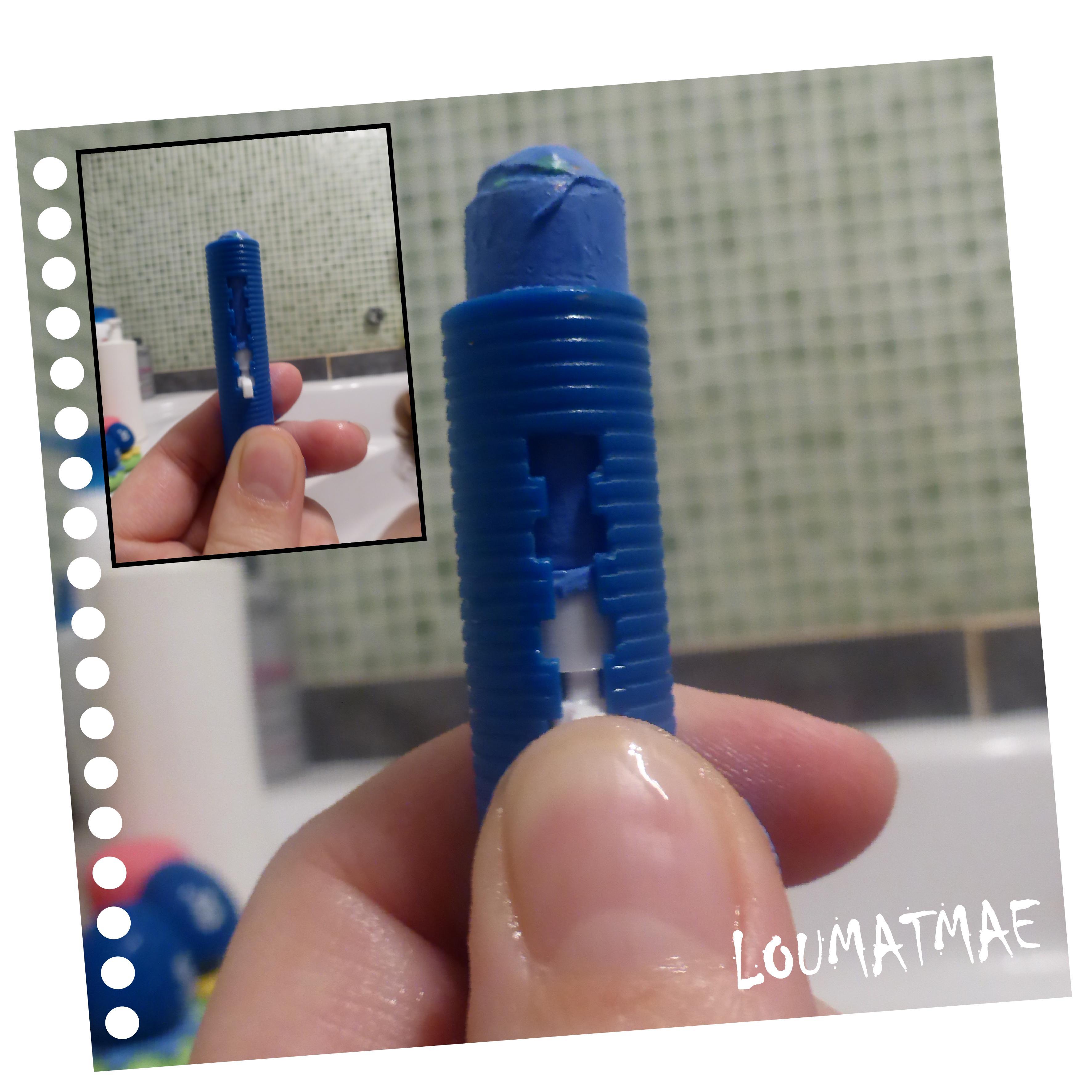 crayon de bain bleu munchkin