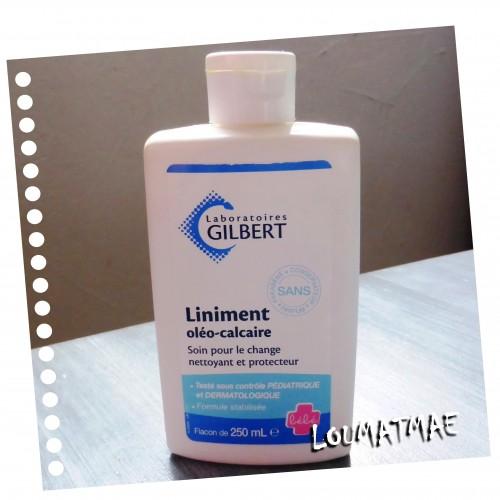 liniment des laboratoires Gilbert