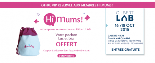 coupon VIP membre Hi Mums !