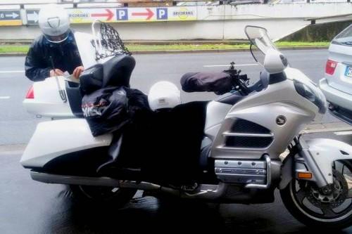 Taxi moto Paris Bike and the city