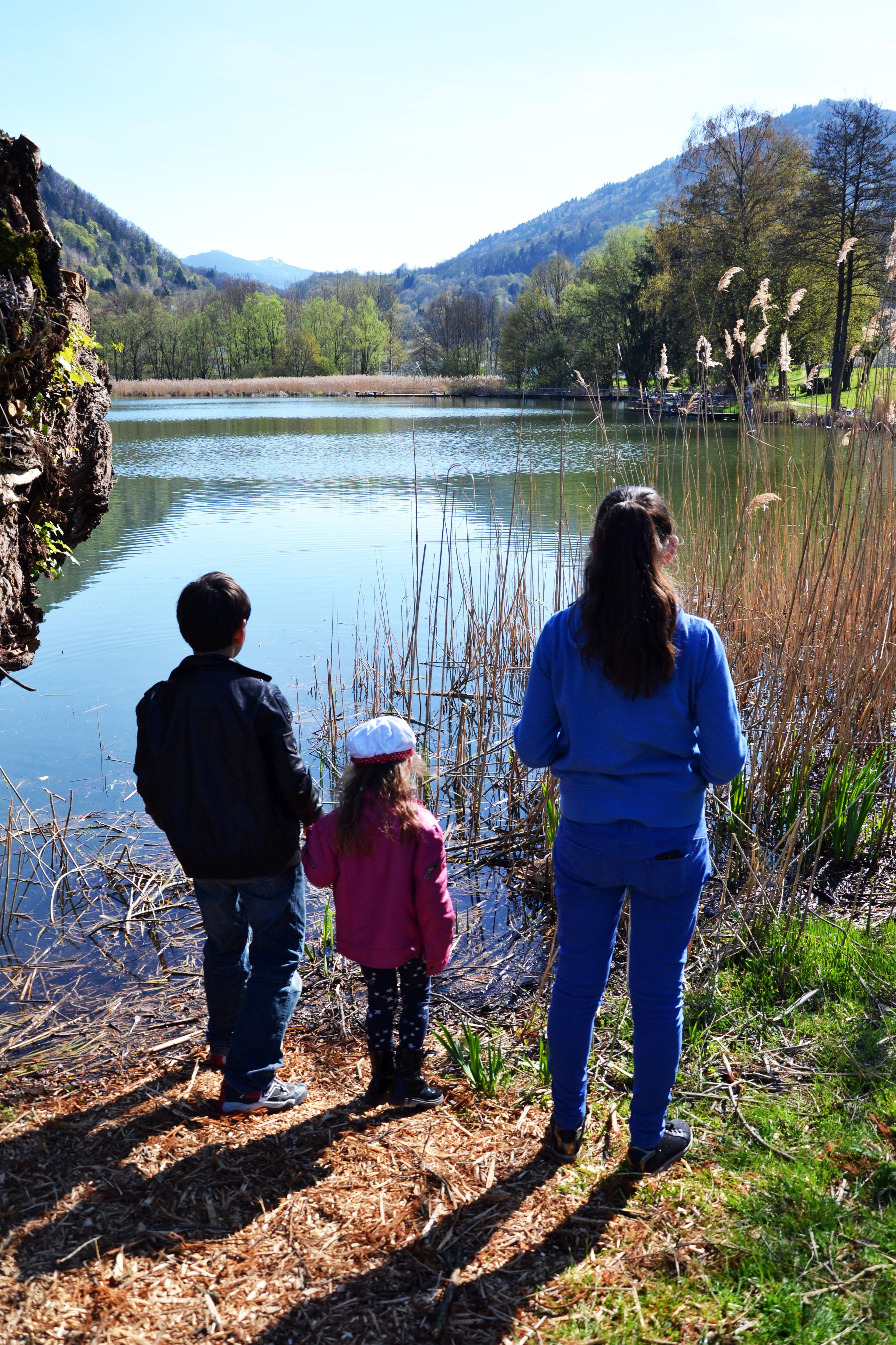 Lac de Détrier en Savoie
