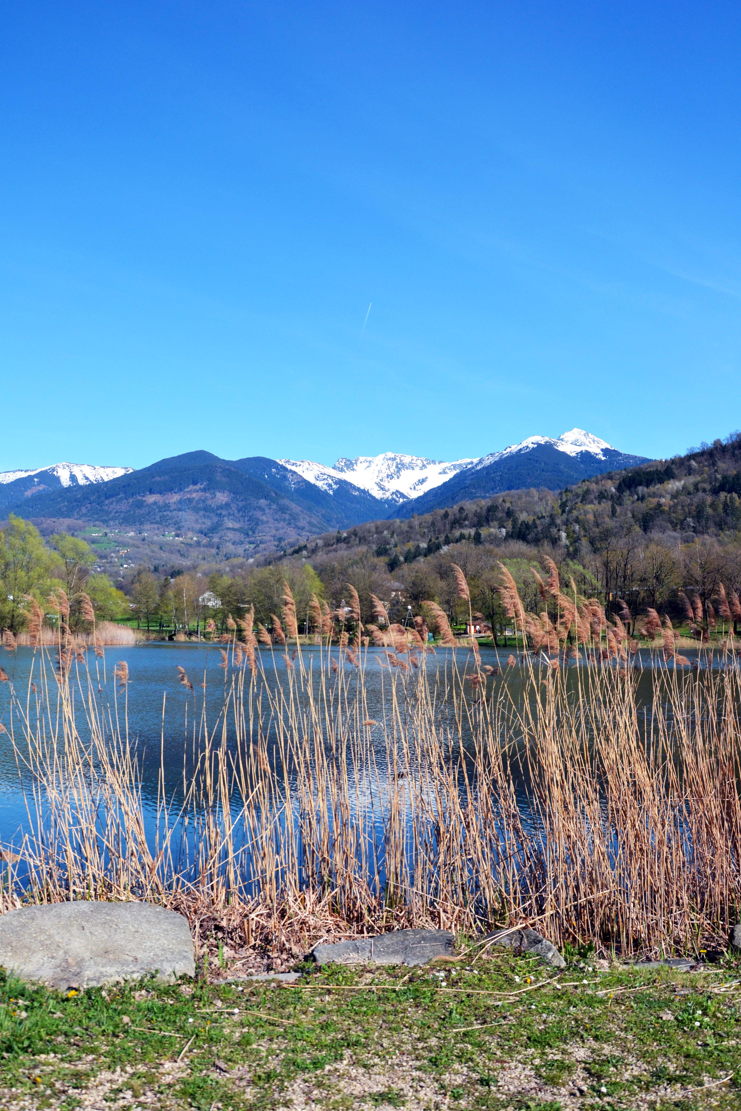 Lac saint clair à étrier en savoie