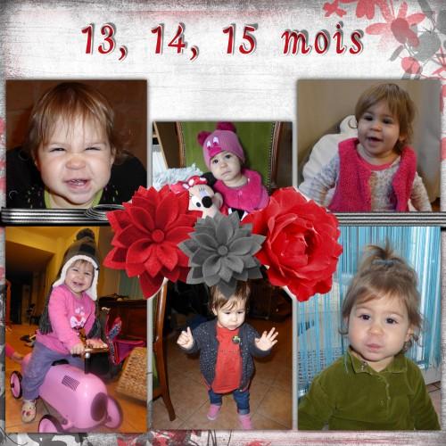 15 premiers mois de mouflette