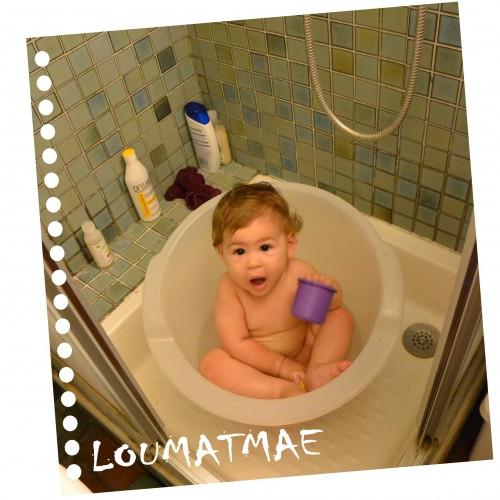 baignoire shantala dans une douche