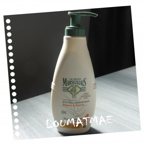 lait hydratant Aloe Vera et Calendula Le Petit Marseillais