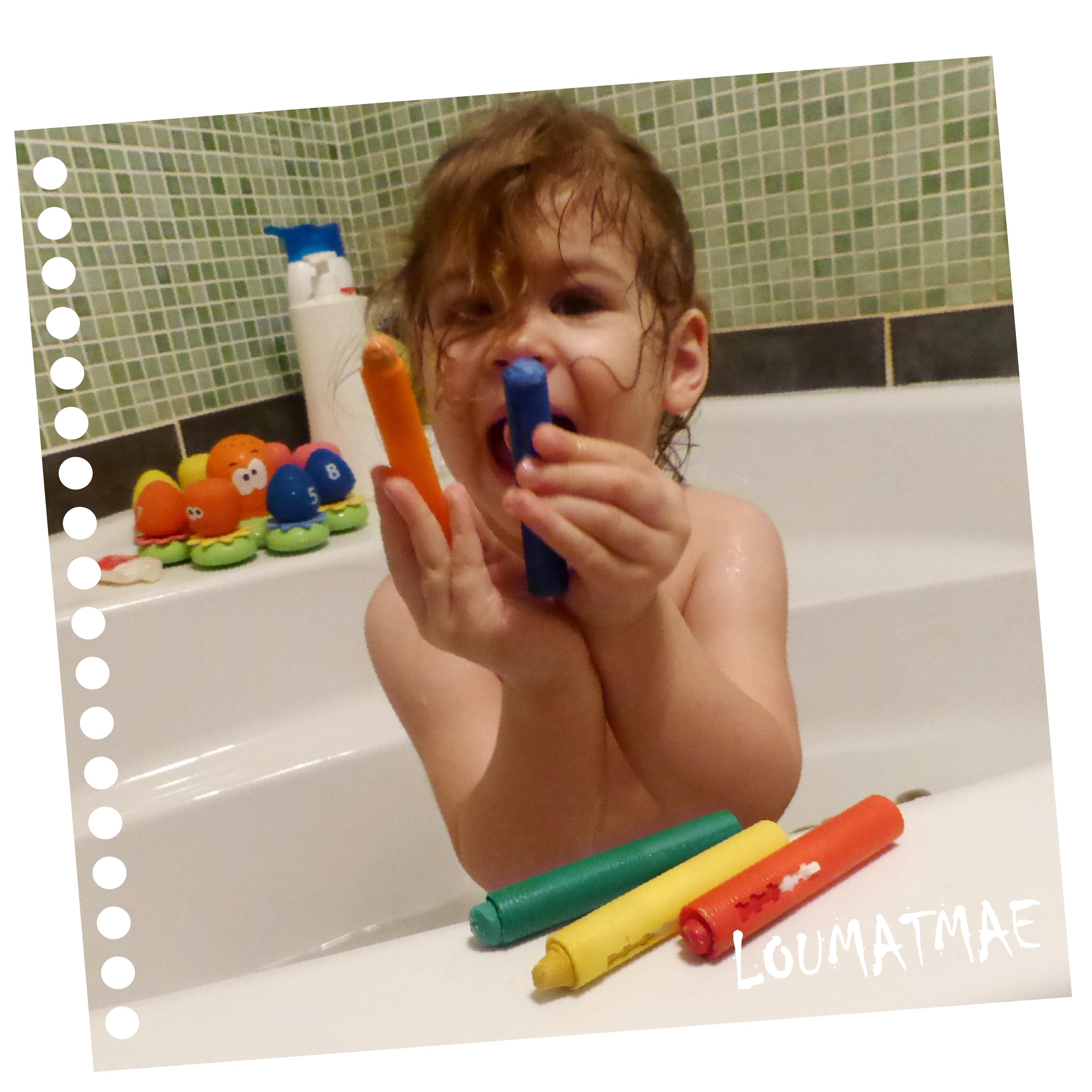 5 crayons de bain Munchkin