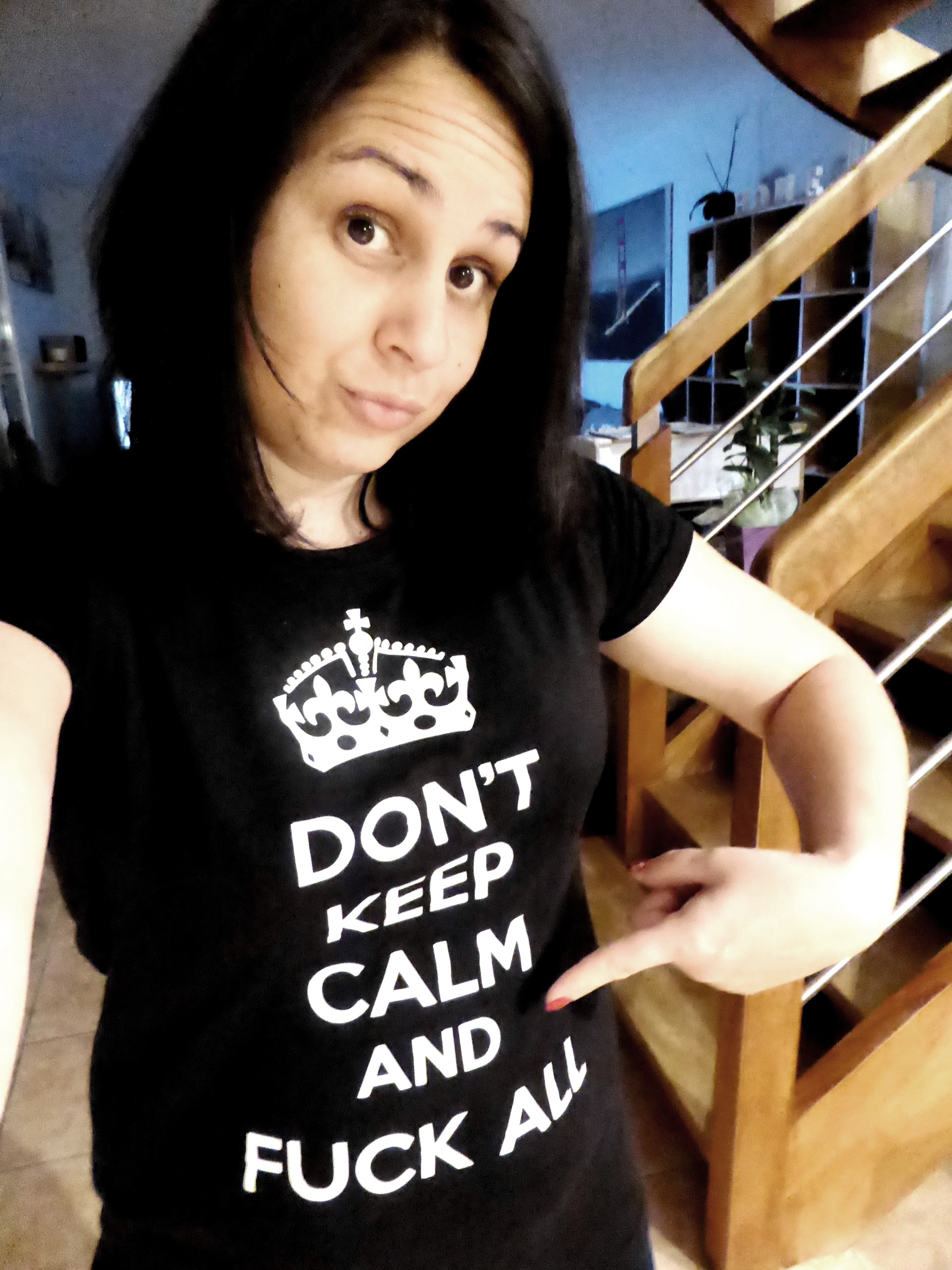 t-shirt keep calm and fuck all