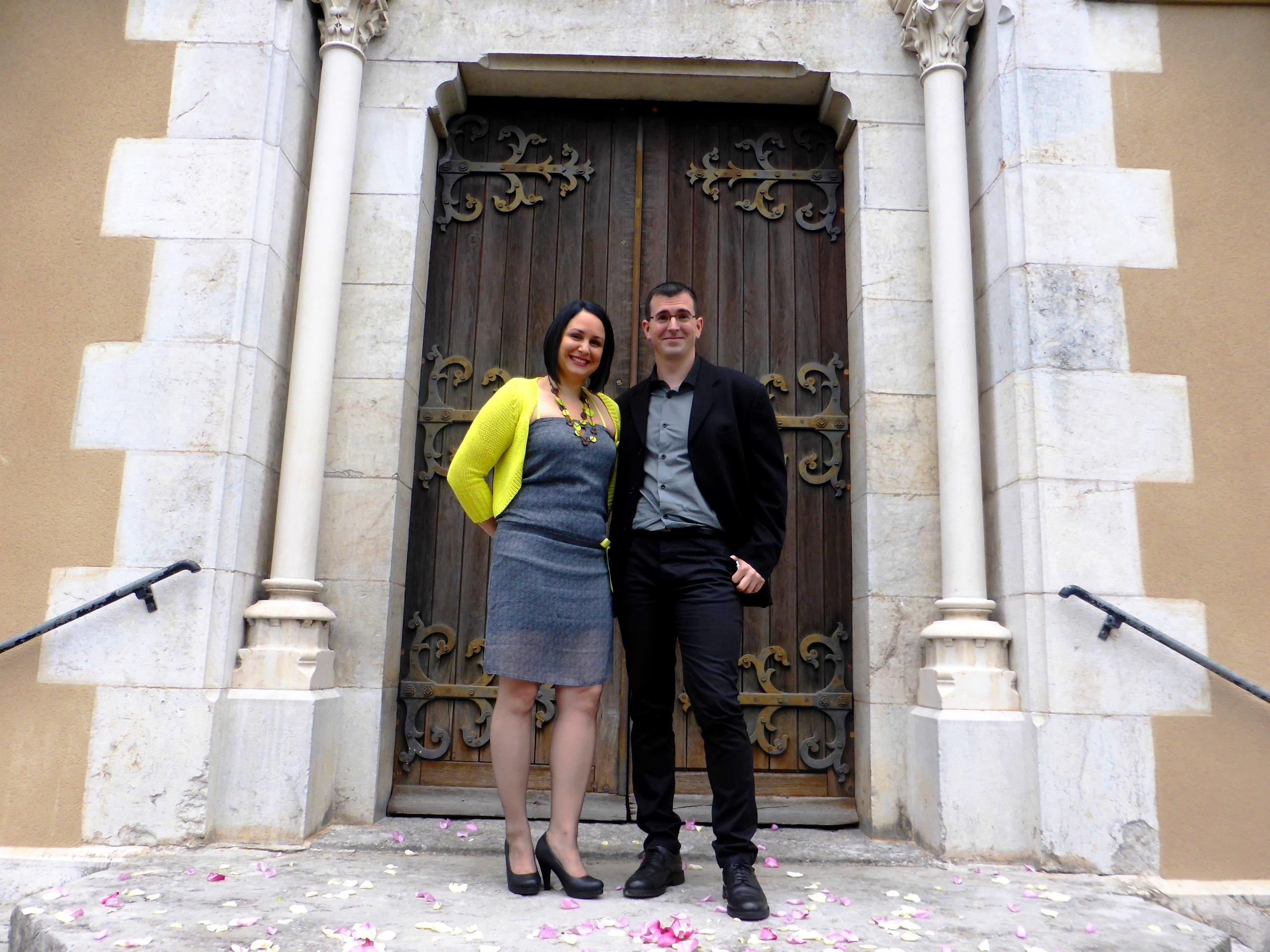 couple à l'église