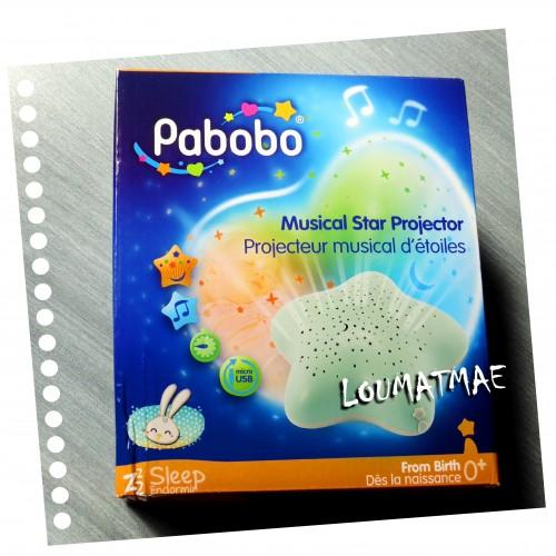projecteur musical d'étoiles Pabobo