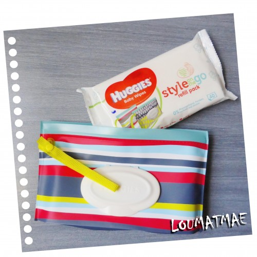 pochette huggies style on the go et sa recharge