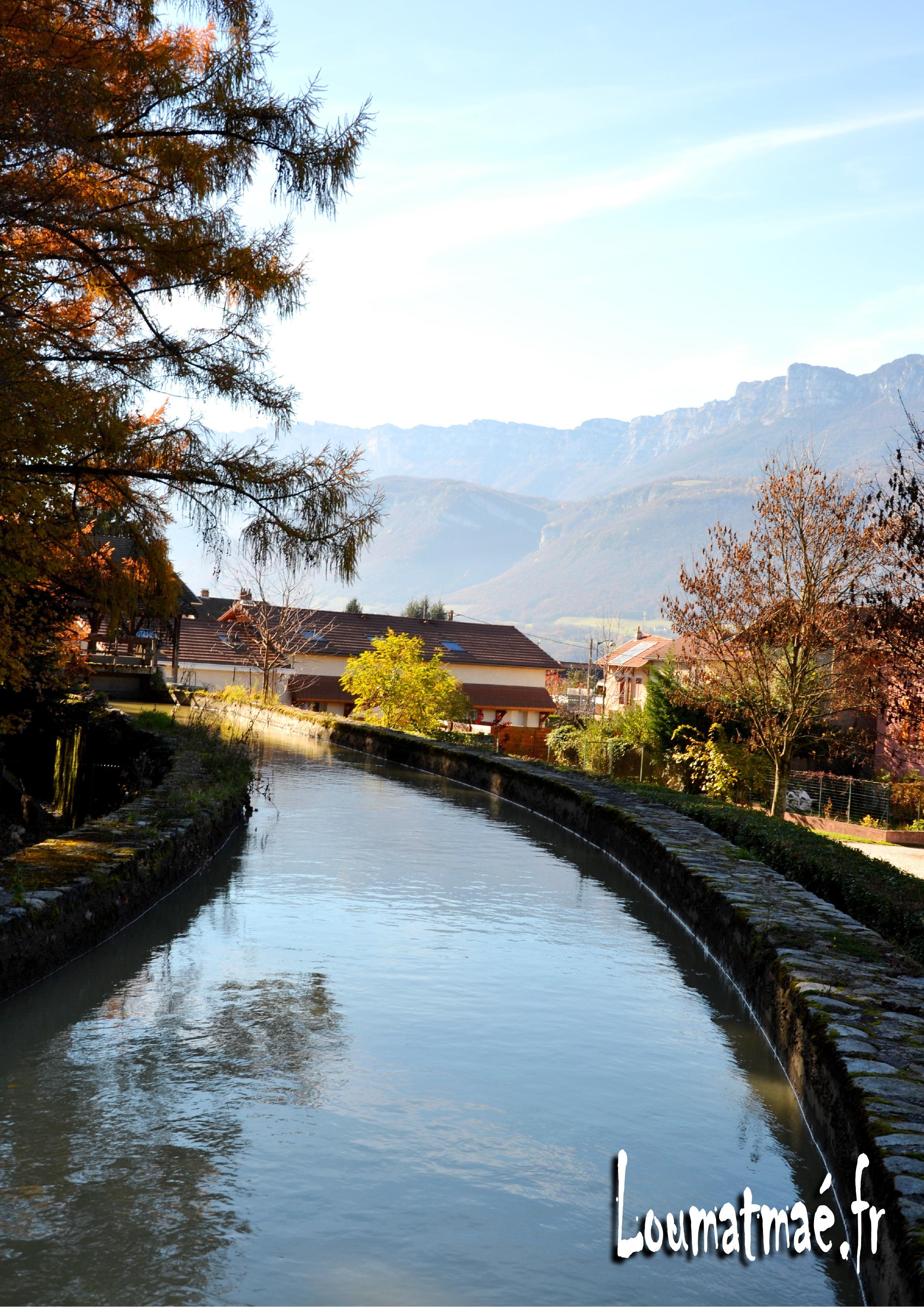 canal du Bréda Pontcharra