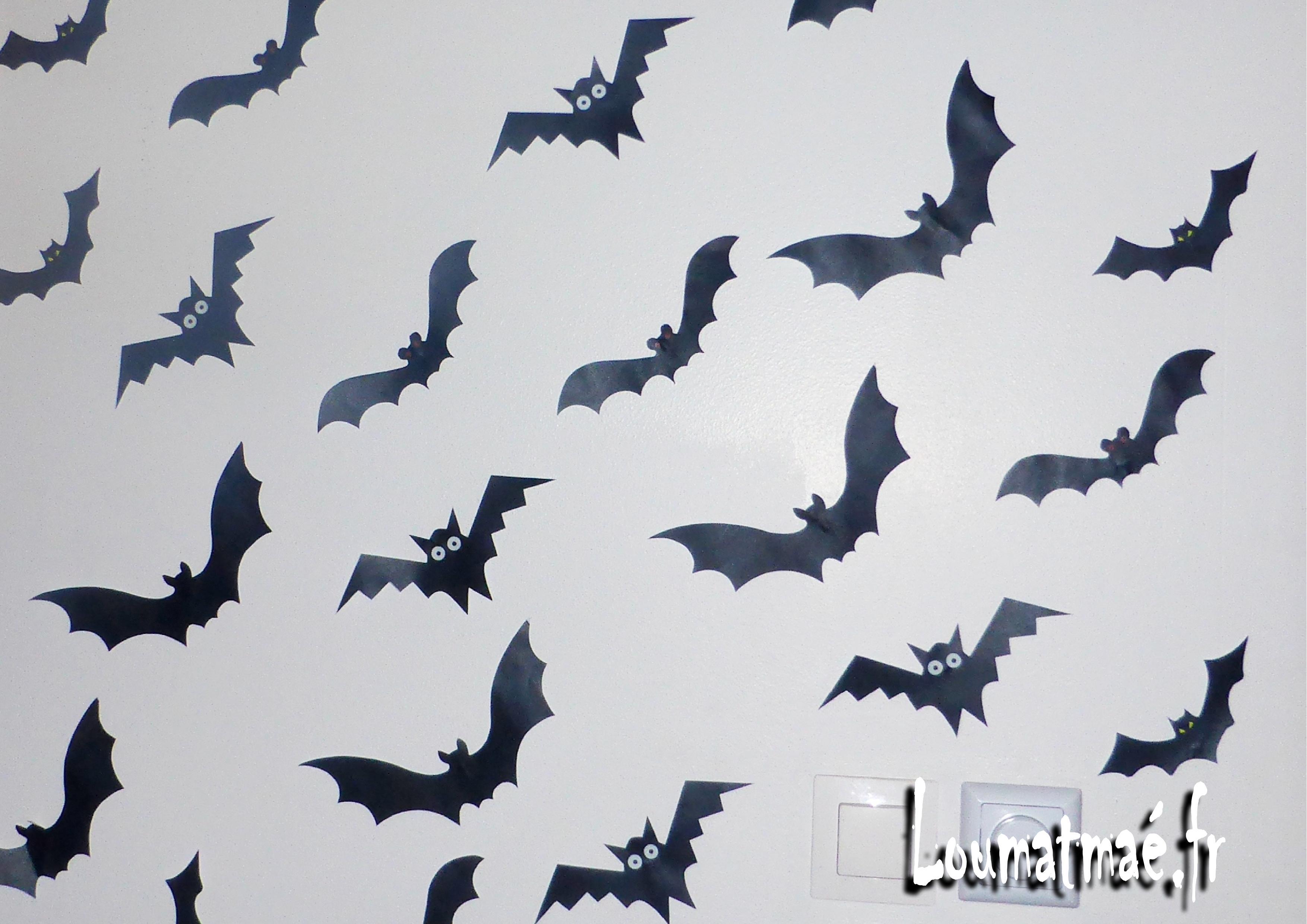 Chauves souris halloween