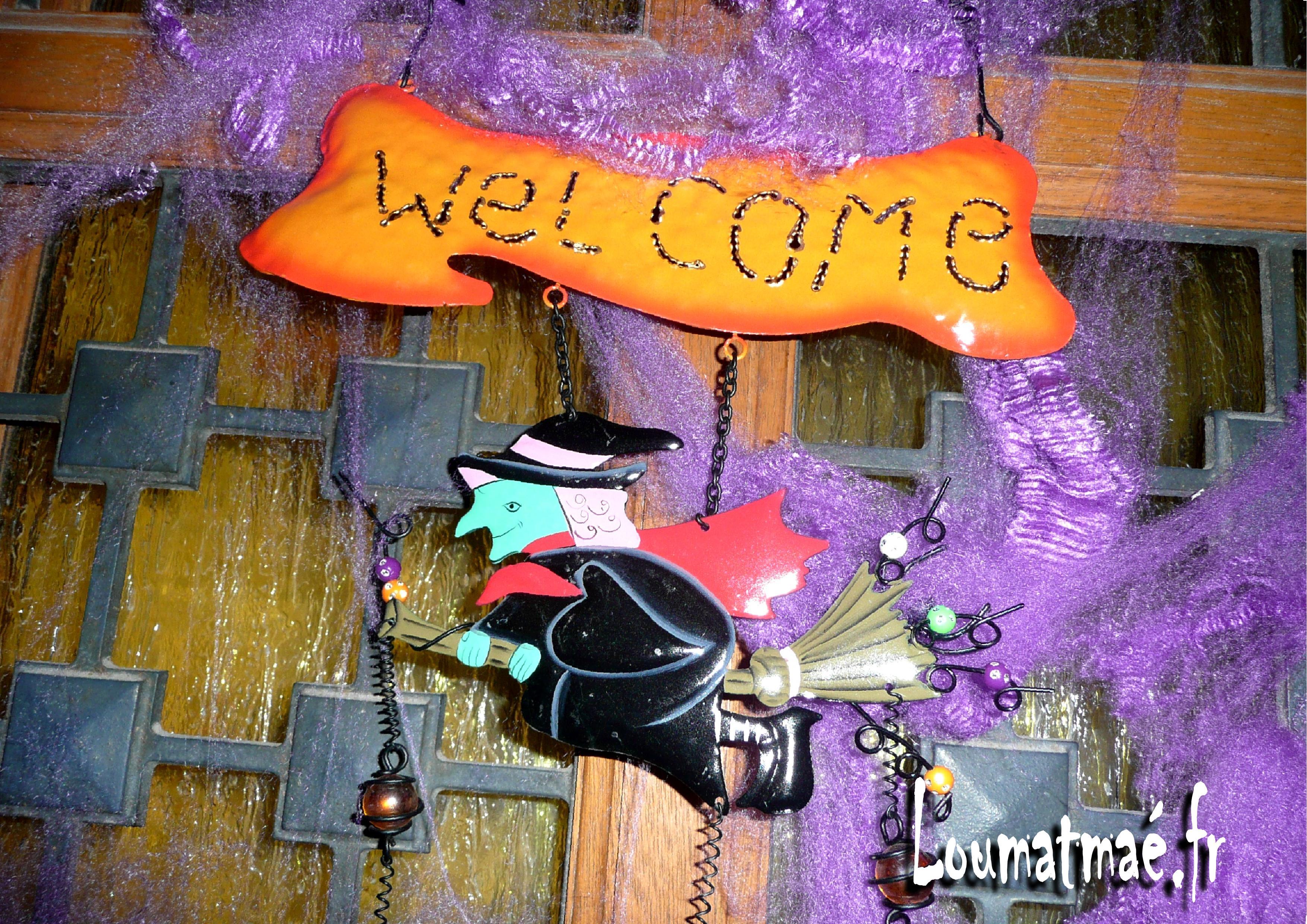 welcome fête d'halloween
