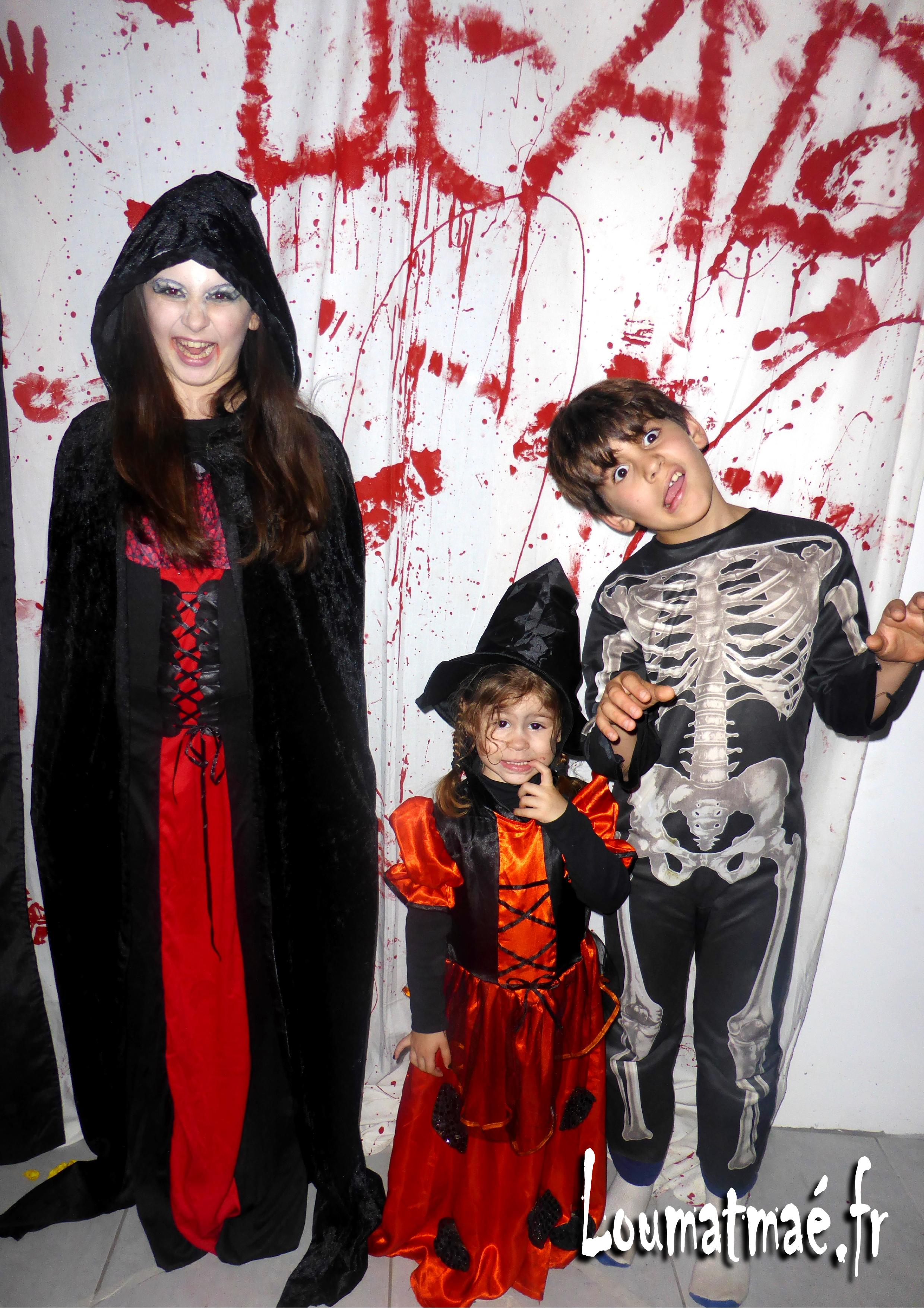 enfants halloween