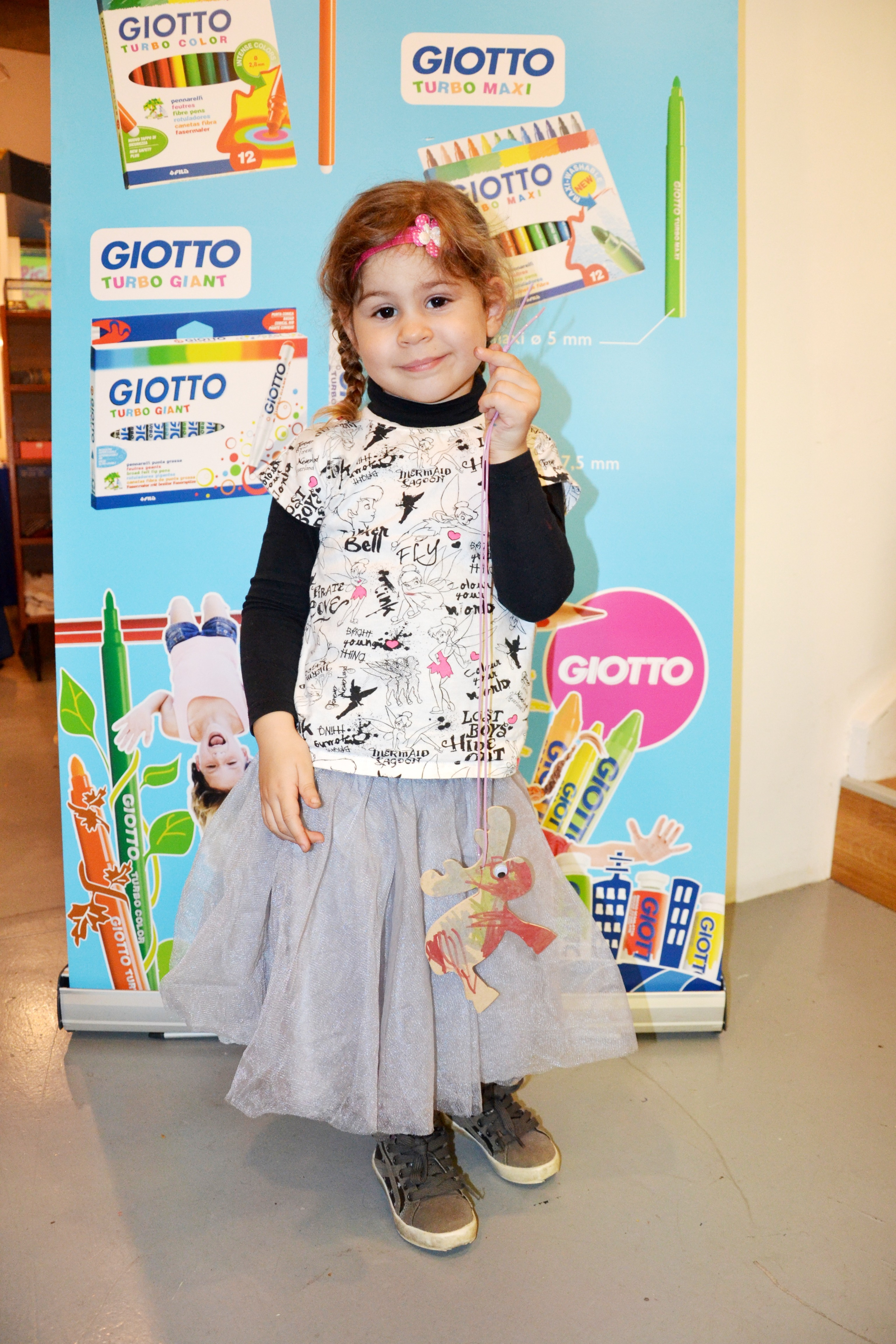 Mouflette au créative blog day Giotto