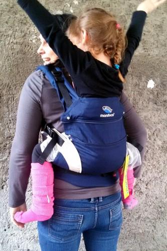 Manduca bleu marine enfant 16kg