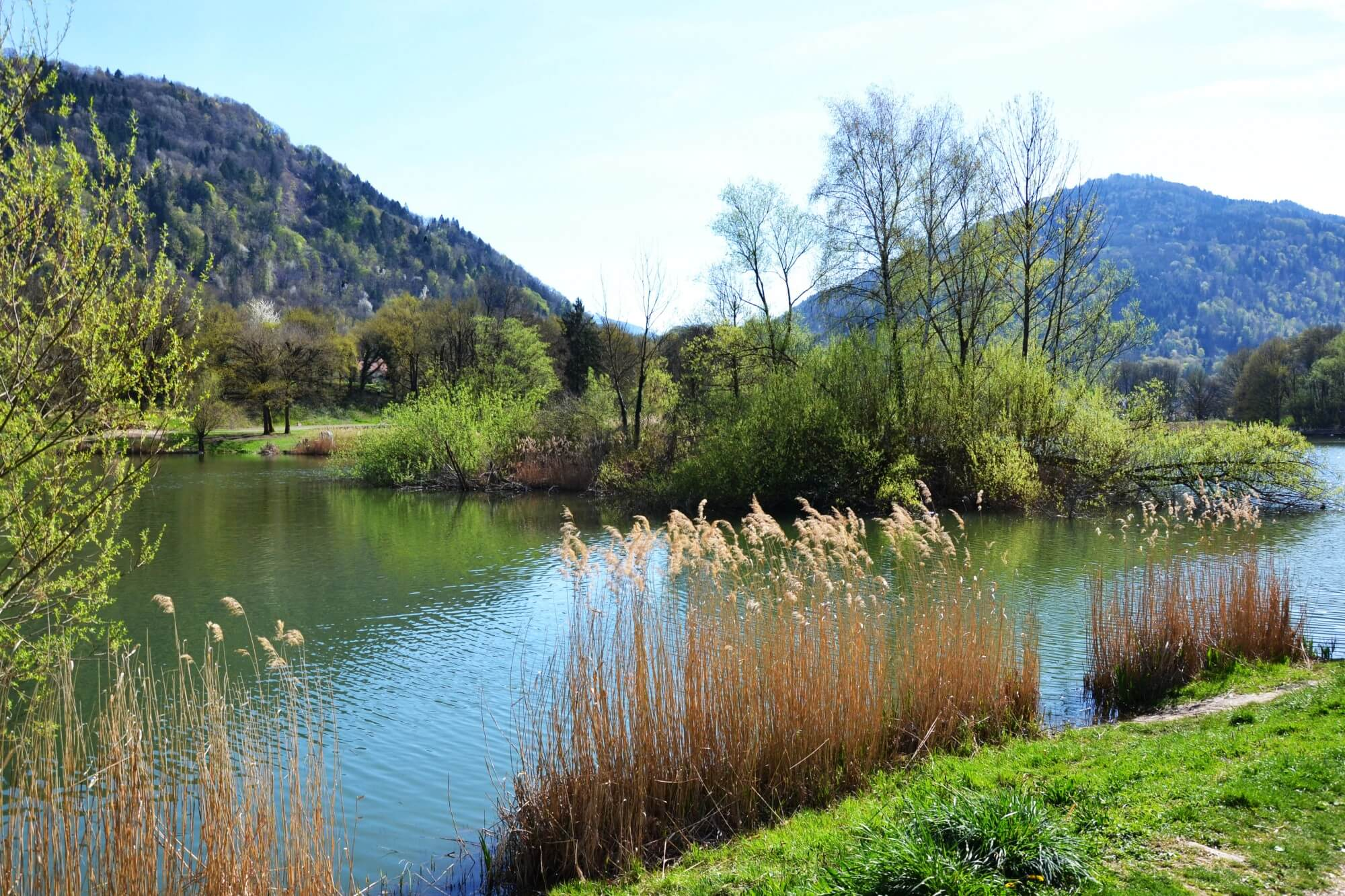 lac saint clair en savoie