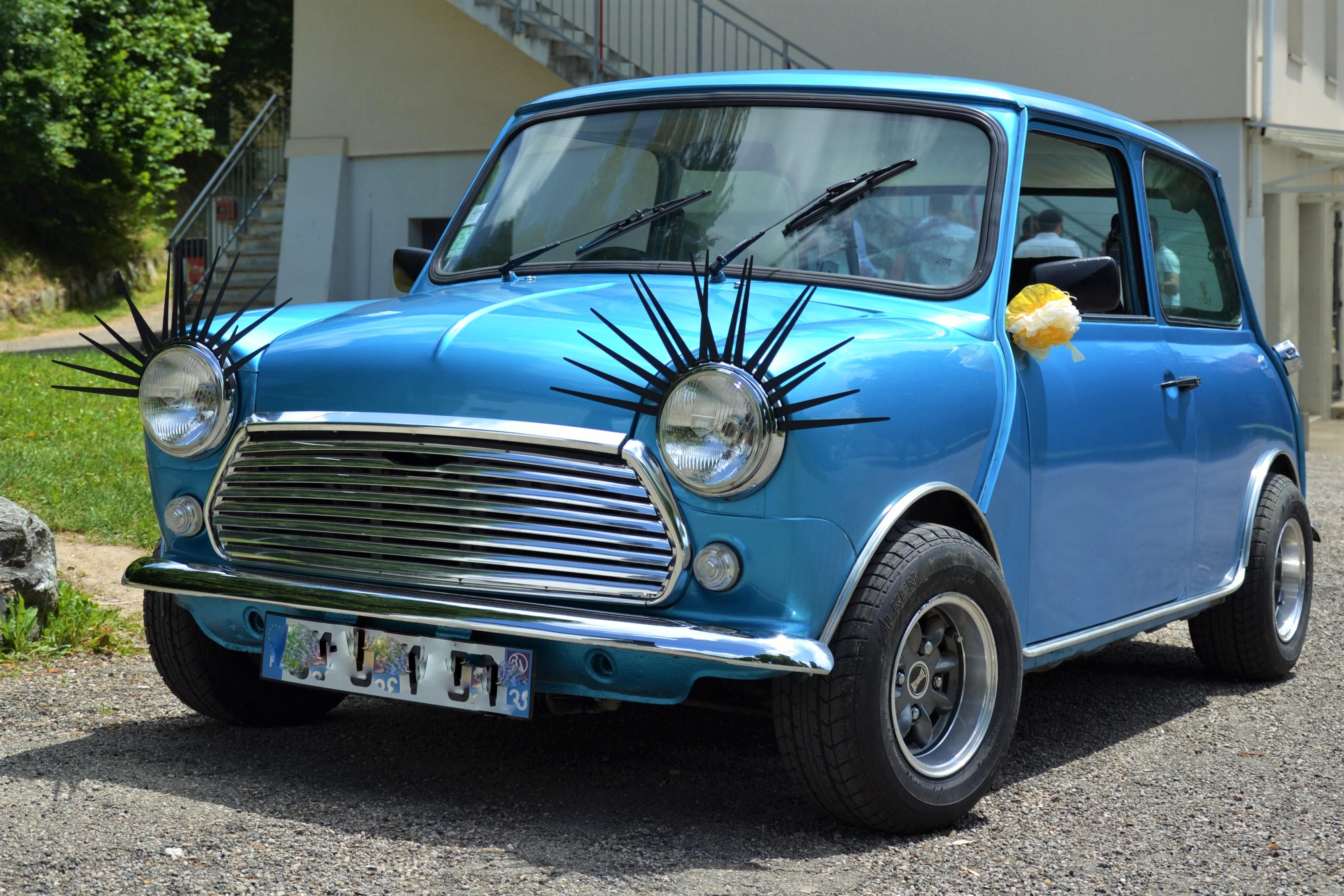 Austin bleu métal