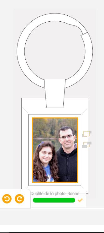 porte clé personnalisé photo