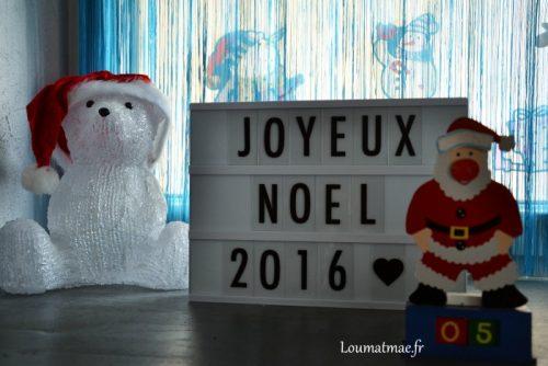 light box joyeux noel