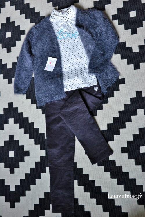 prêt à porter tendance lili marelle avec pantalon de chez Stockomani