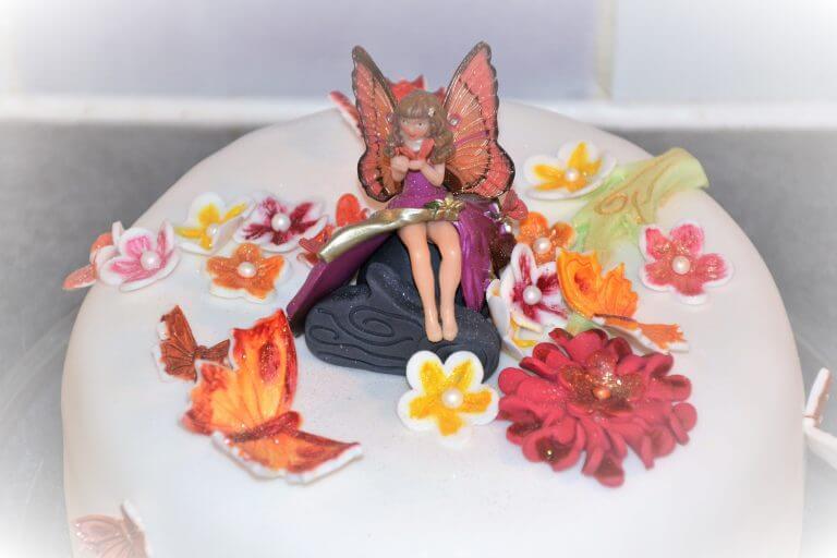 cake design Fée papillon