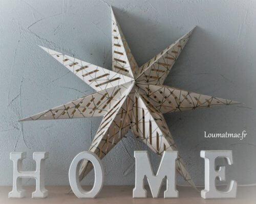 étoile de papier ikea
