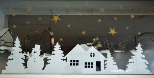 deco fenêtre de chez Mr Bricolage