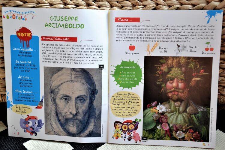 OLALAR magazine d'art pour les enfants