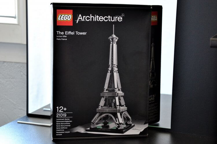 Tour Eiffel Lego Architecture à monter