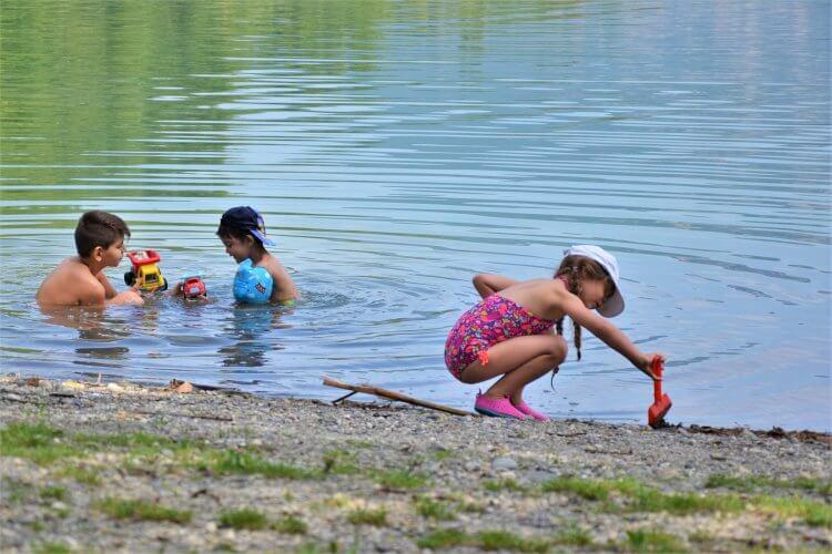 jeux au lac Août 2017